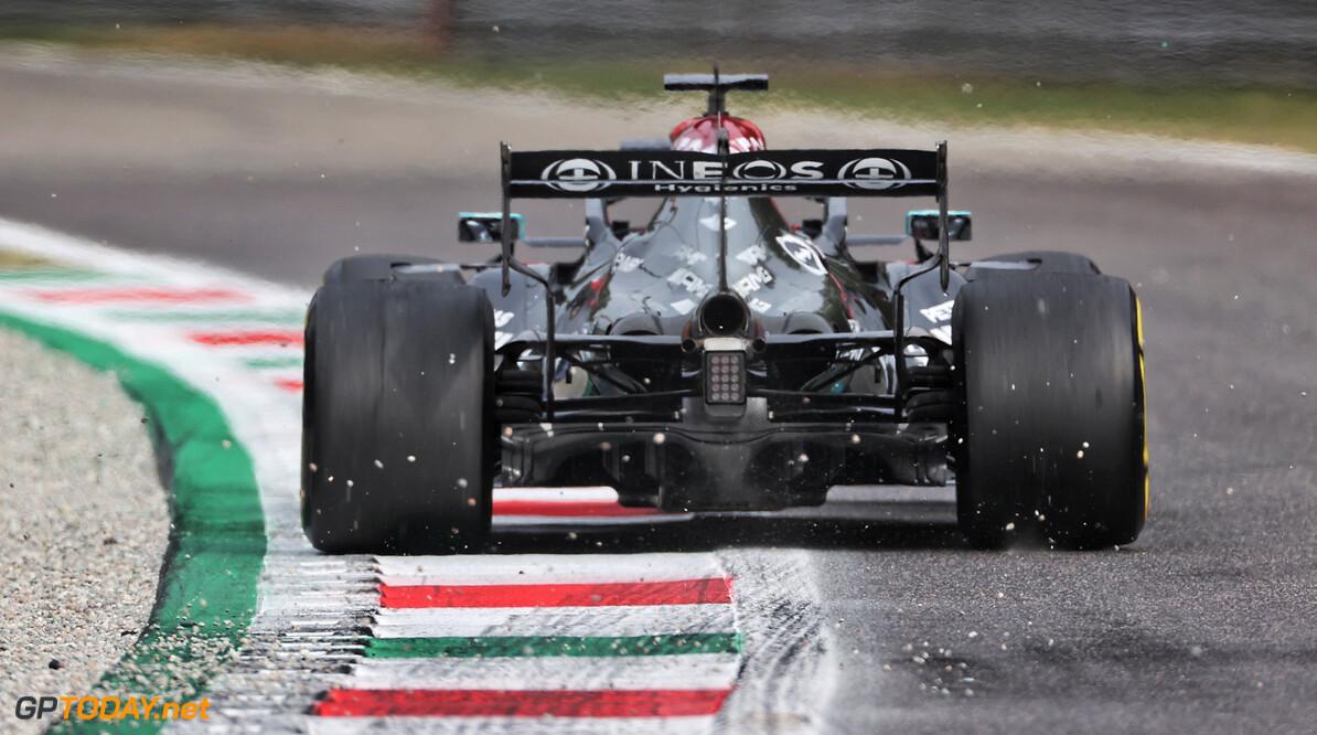 """Bottas trots dat hij sneller is dan Hamilton en Verstappen op Monza: """"Dat was een lekker rondje"""""""