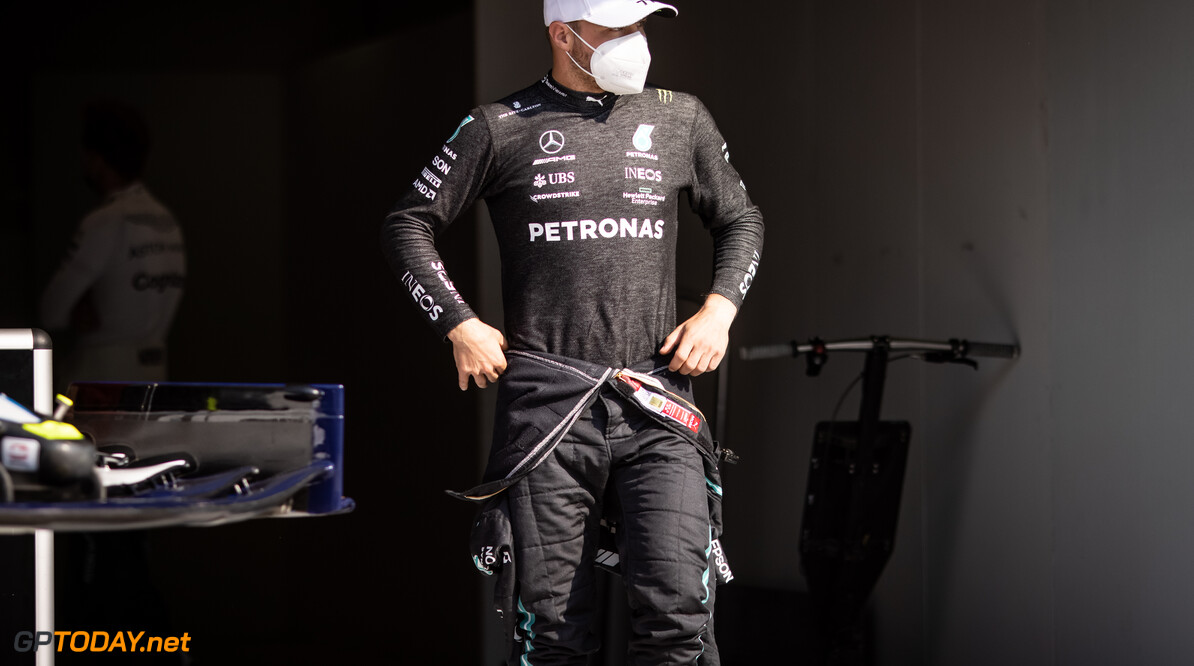 """Bottas de lachende derde: """"Van mijn kant een goede race"""""""