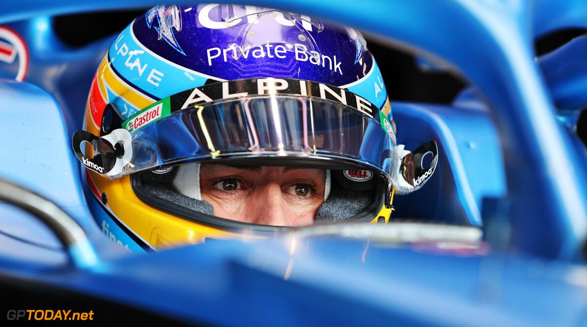 """Alonso hoopte op eerste podium met Alpine: """"Auto vloog echt dus podium was mogelijk"""""""