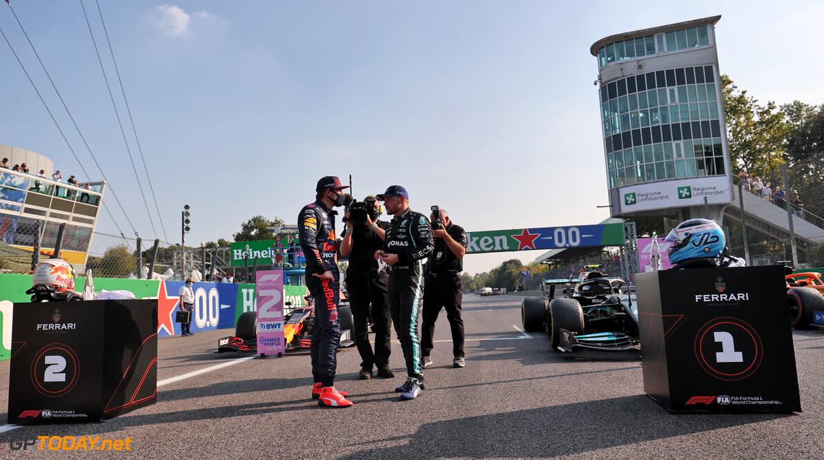"""Max Verstappen wist achter Bottas: """"Ook al zou ik tweede blijven, ik zou toch wel vooraan starten"""""""