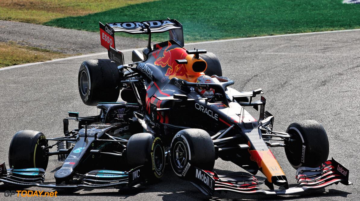 <b> Samenvatting F1 Grand Prix van Italië: </b> Ricciardo wint in Monza na crash Verstappen met Hamilton