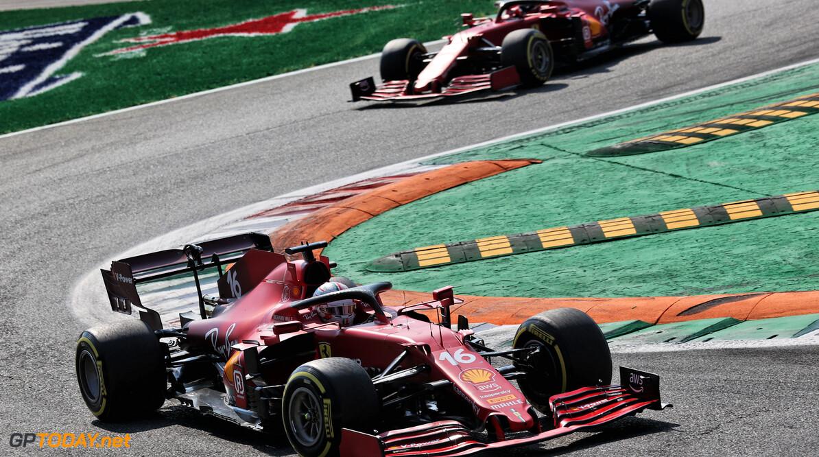 """Charles Leclerc verslagen door McLarens, maar sportief: """"Ben blij voor Daniel"""""""
