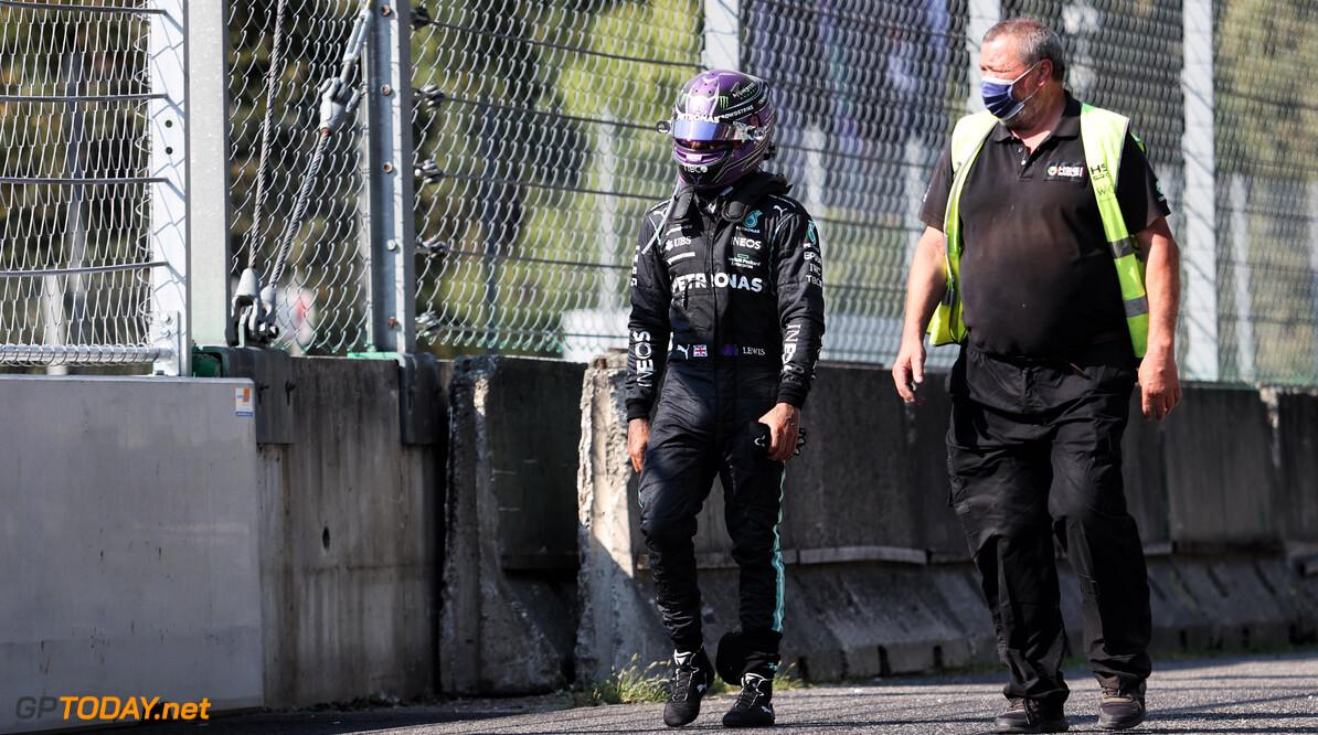 Verstappen en Hamilton op het matje geroepen bij wedstrijdleiding na crash Monza
