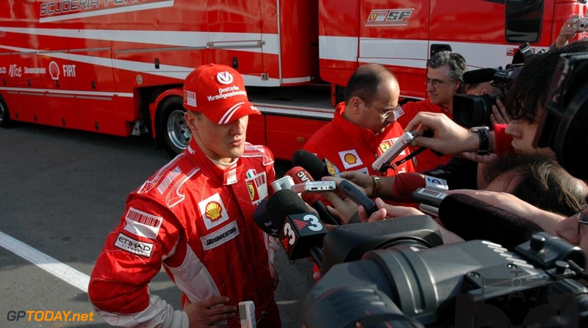 """Schumacher: """"Instappen bij Mercedes zeer onwaarschijnlijk"""""""