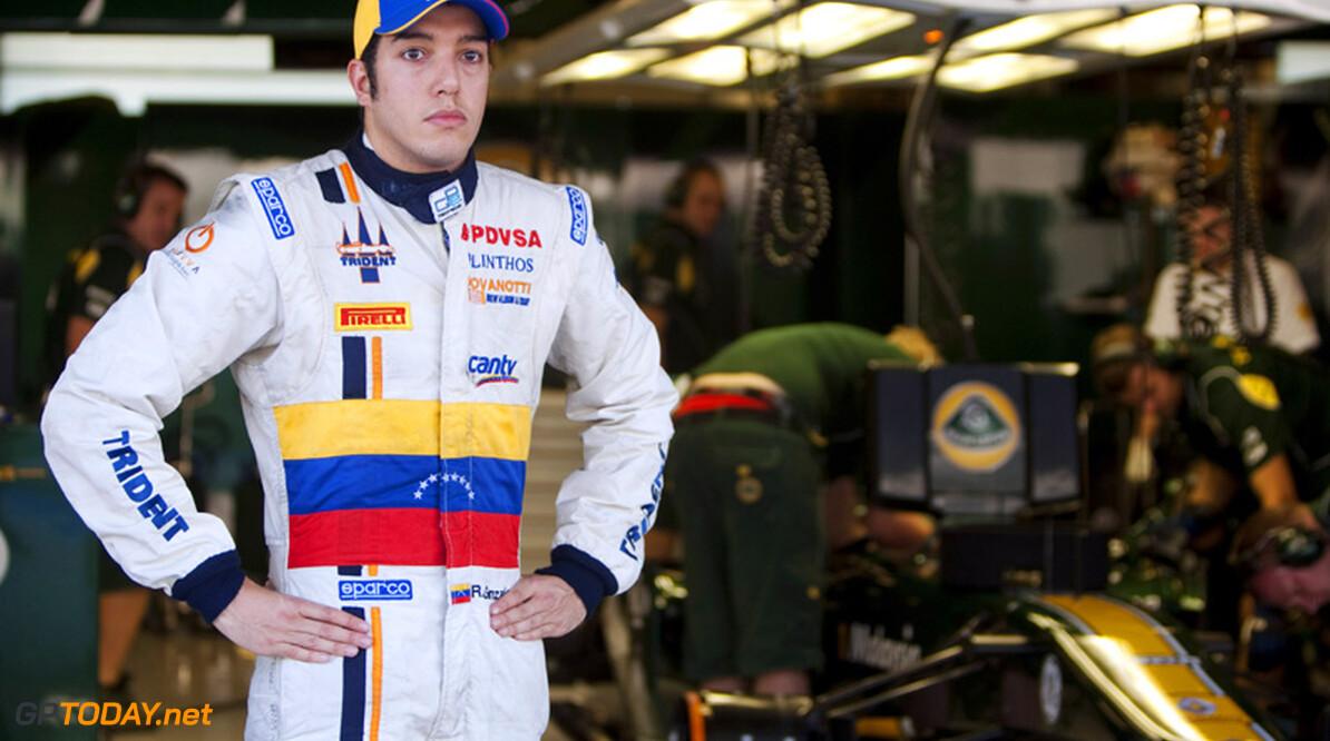 Rodolfo Gonzalez test voor Caterham F1 Team in Mugello