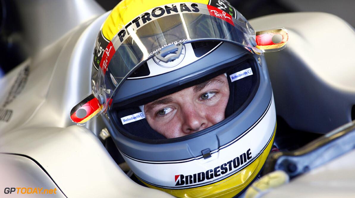 Rosberg heeft rotsvast vertrouwen in mensen bij Mercedes GP
