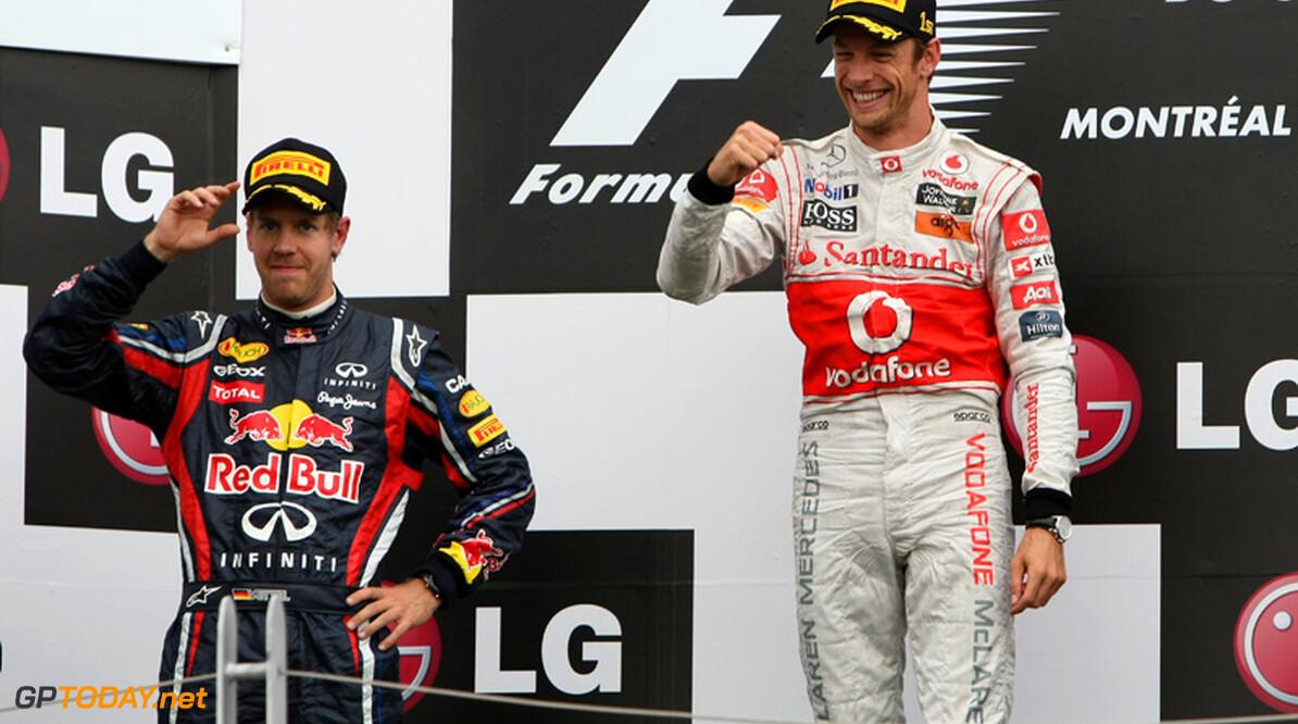 """Jenson Button: """"Vettel zit in de best mogelijke situatie"""""""