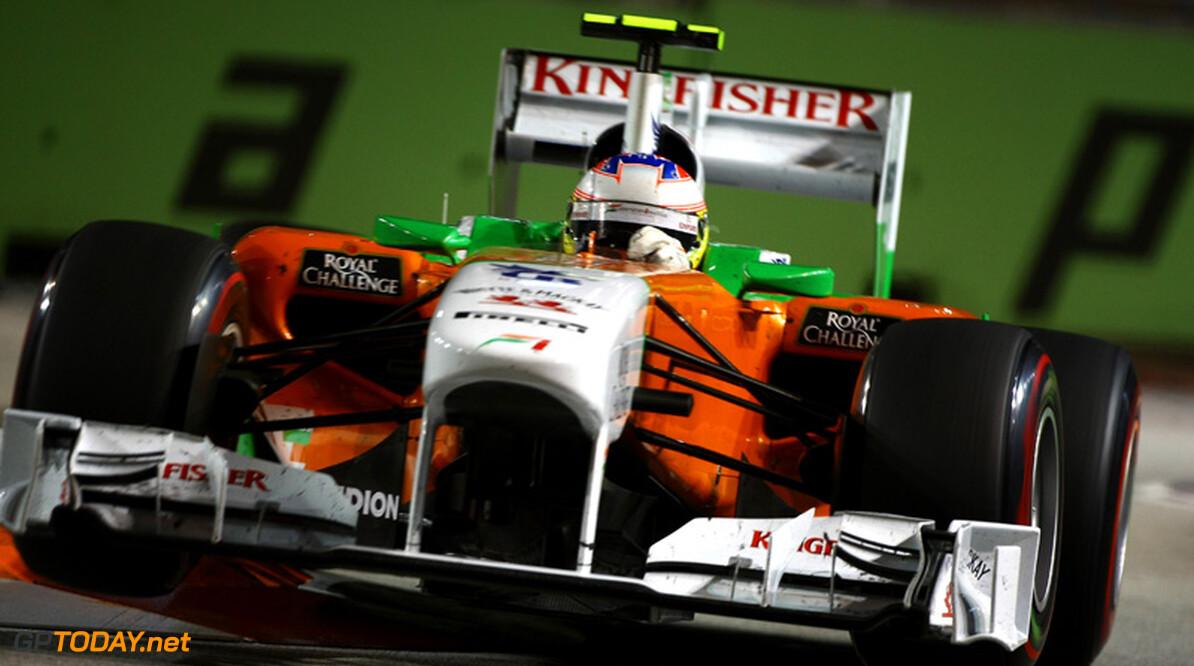 """Di Resta zwijgt over toekomst bij Force India: """"Ik kan niets zeggen"""""""