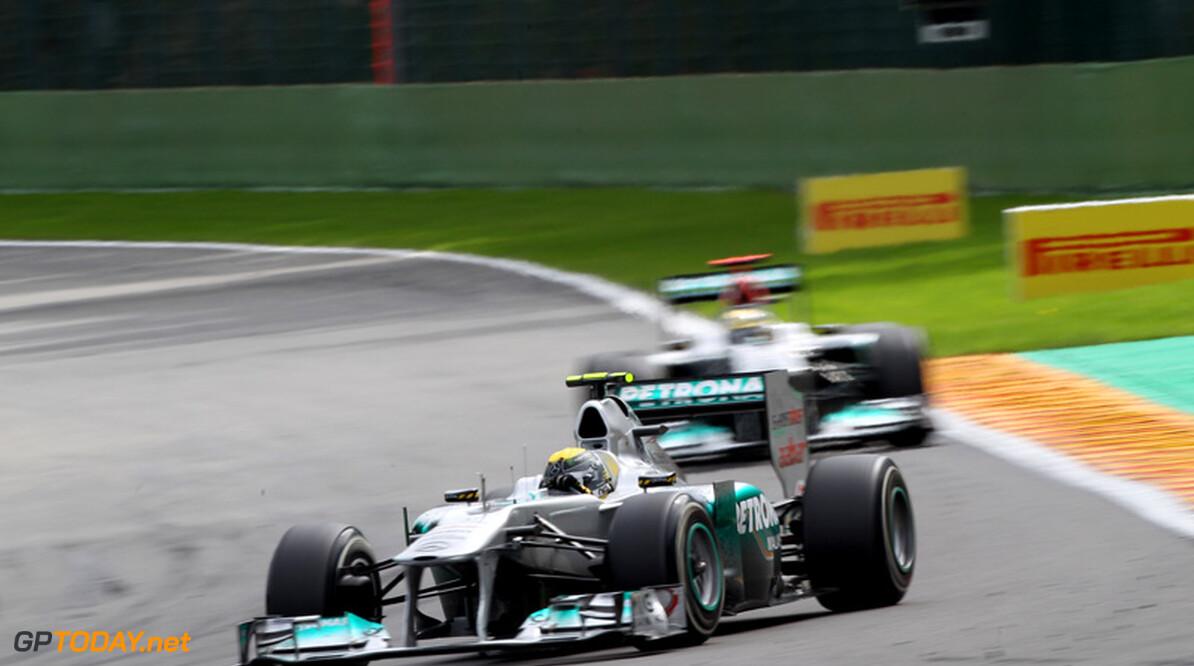 """Rosberg: """"Schumacher verslaan is zeker goed voor mijn carrière"""""""