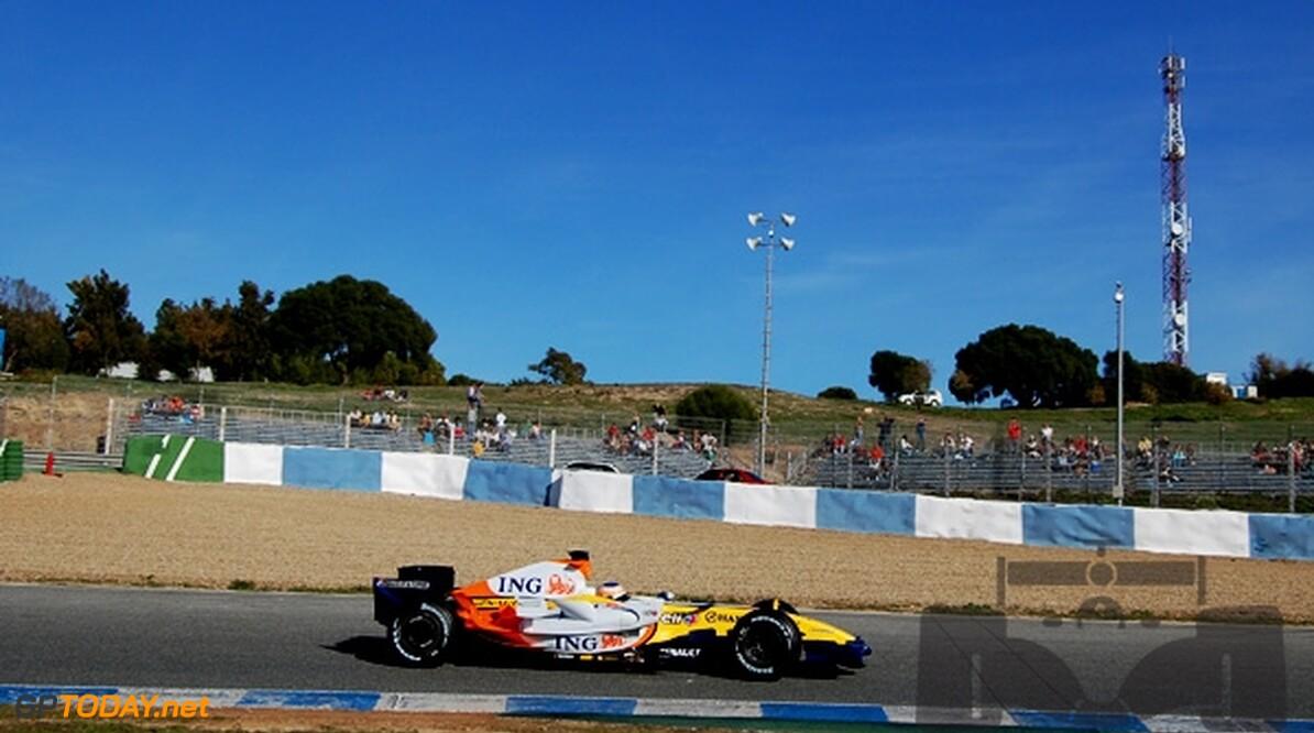 Testdebuut van Alvaro Parente in januari in Jerez
