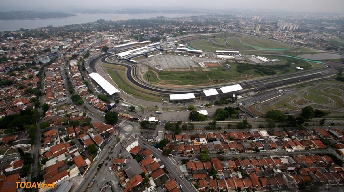 Weerupdate Interlagos: Kwalificatie begint op nat circuit
