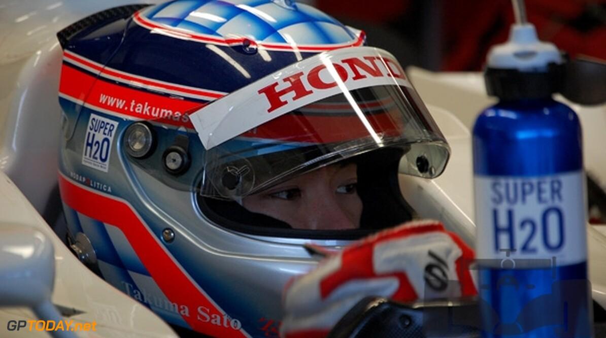 Sato op zoek naar sponsors voor Scuderia Toro Rosso-stoeltje