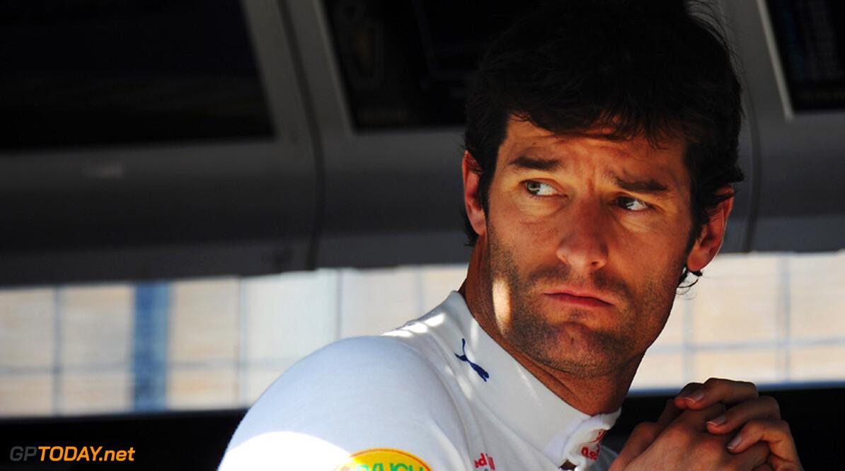 Webber snapt gebruik beweegbare achtervleugel in kwalificatie niet
