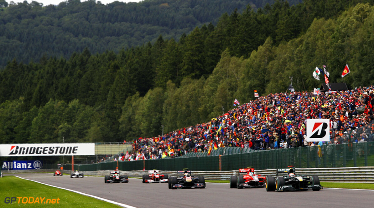 6,000 fans left without tickets for Spa race