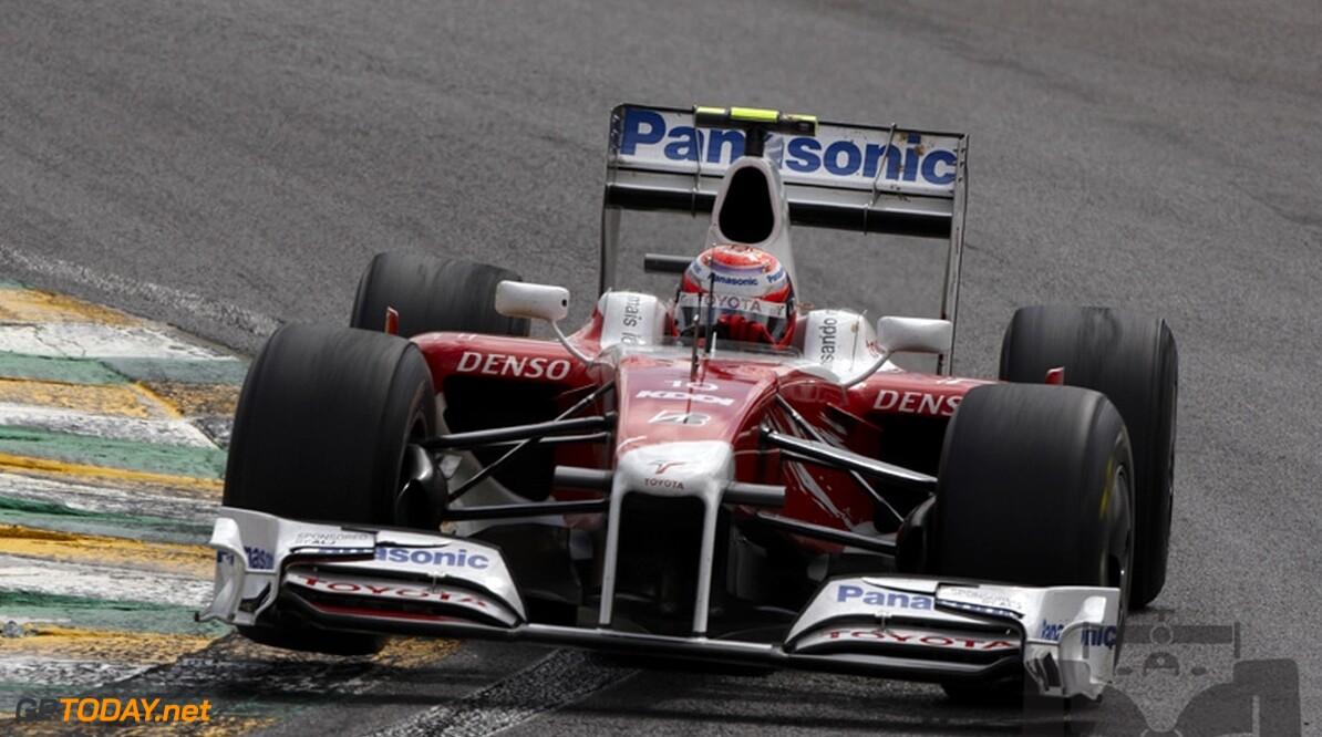 Glock mist seizoensafsluiting, Kobayashi rijdt in Abu Dhabi