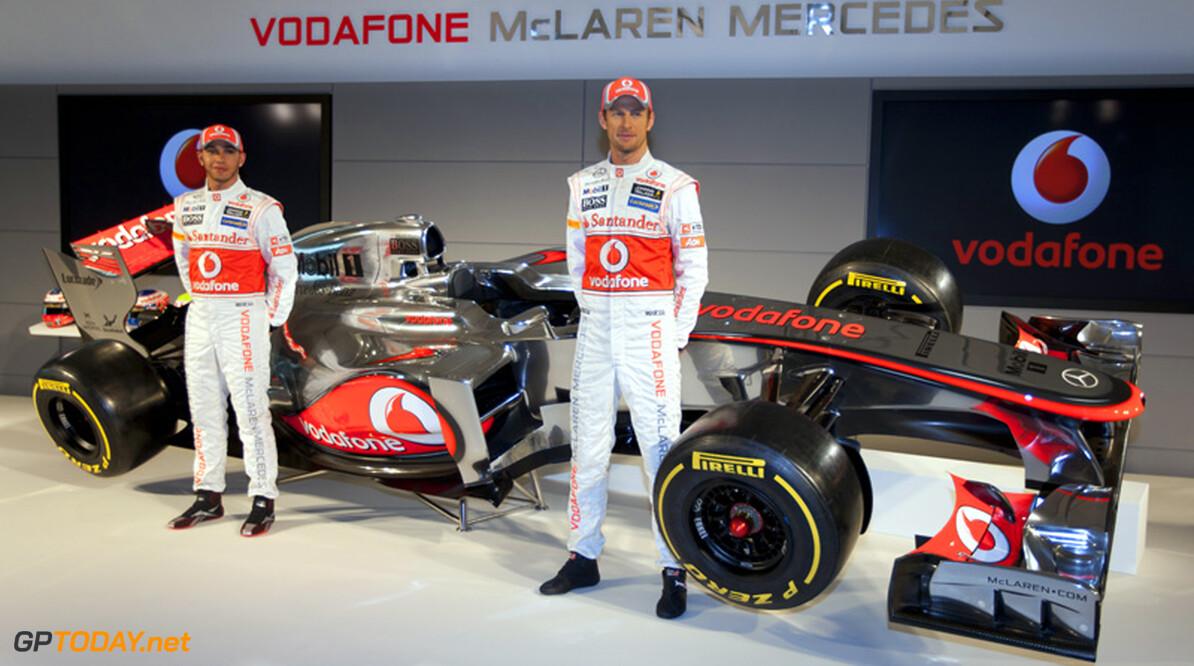 McLaren presenteerde niet de echte wagen