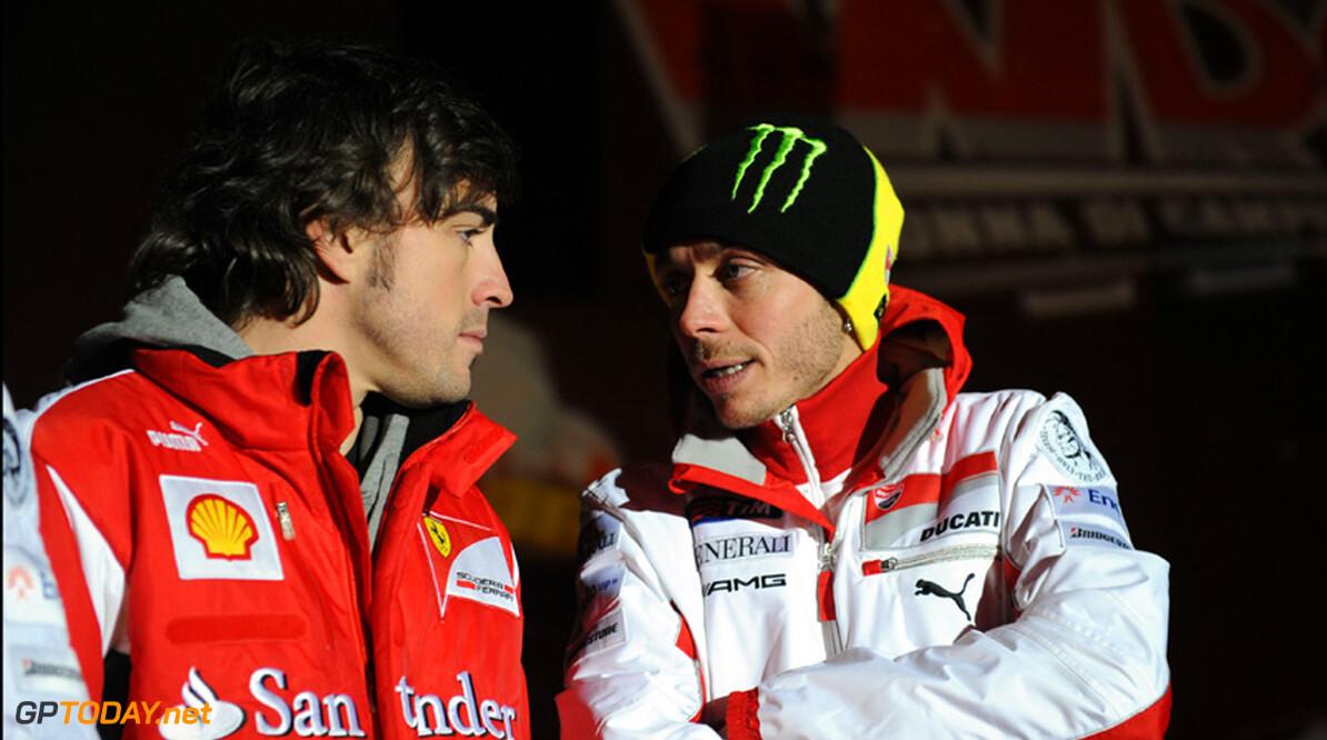 Valentino Rossi came close to F1 switich