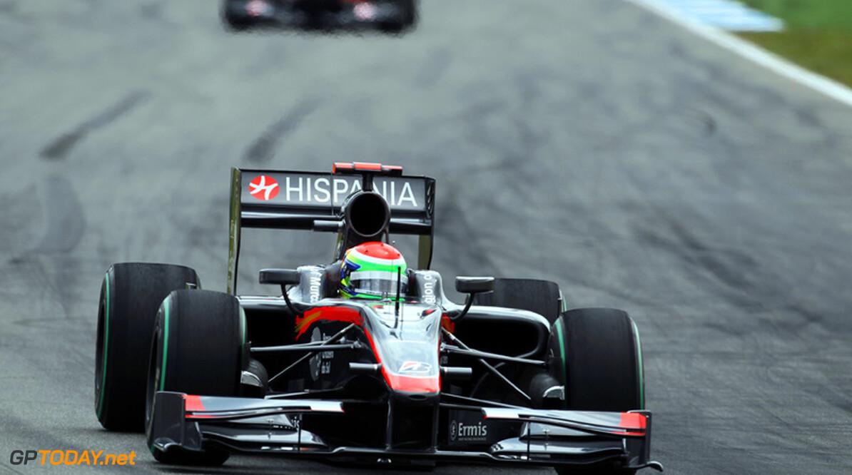 Hispania Racing beboet voor incident met bandenwarmer