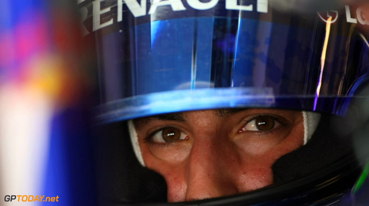 ABU DHABI, UNITED ARAB EMIRATES - NOVEMBER 16:  Daniel Ricciardo of Australia and Red Bull Racing in the car during the Young Driver Testing at the Yas Marina Circuit on November 16, 2010 in Abu Dhabi, United Arab Emirates.  (Photo by Andrew Hone/Andrew Hone/Getty Images)  Andrew Hone