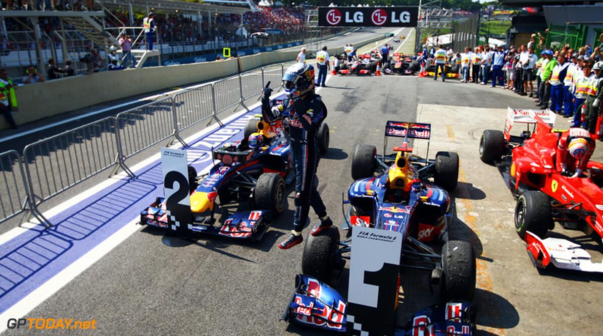 Weekend review: Eindstanden Formule 1 & GP2 Series
