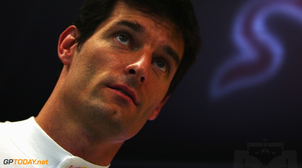 Mark Webber probeert op 17 november GP3-auto uit