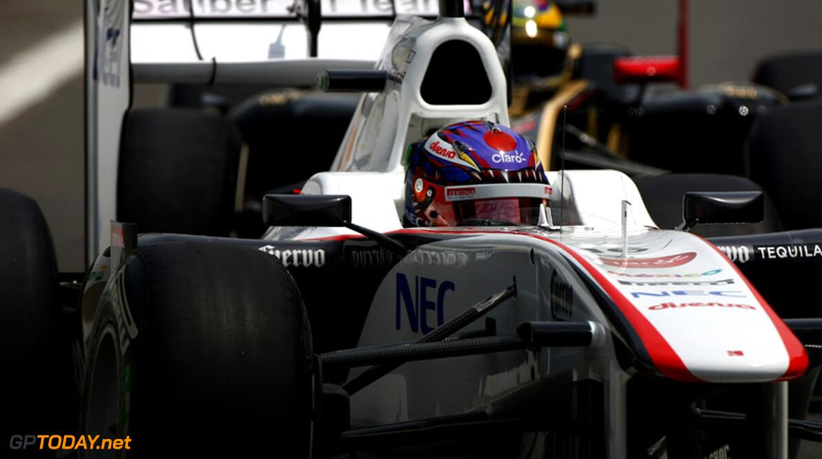 Kobayashi loodst Sauber naar zevende stek bij constructeurs