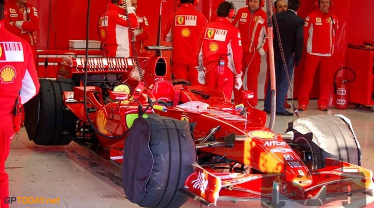 Ferrari test deze week op Menorca