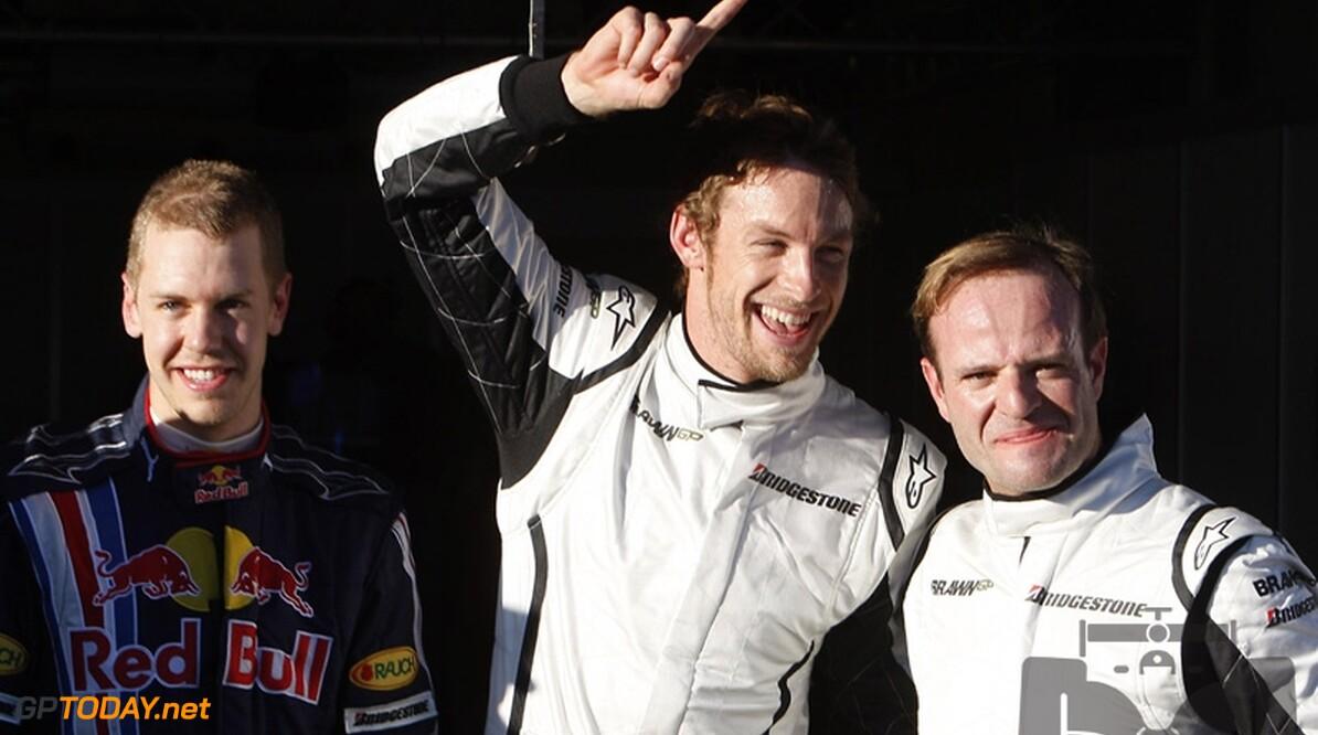 Button en Barrichello mogen het onderling uitvechten