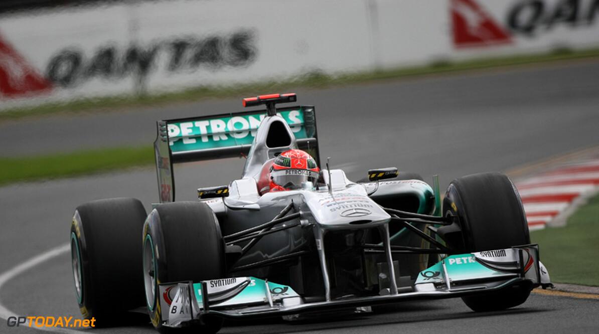 Mercedes-coureurs ondervonden problemen met DRS in kwalificatie