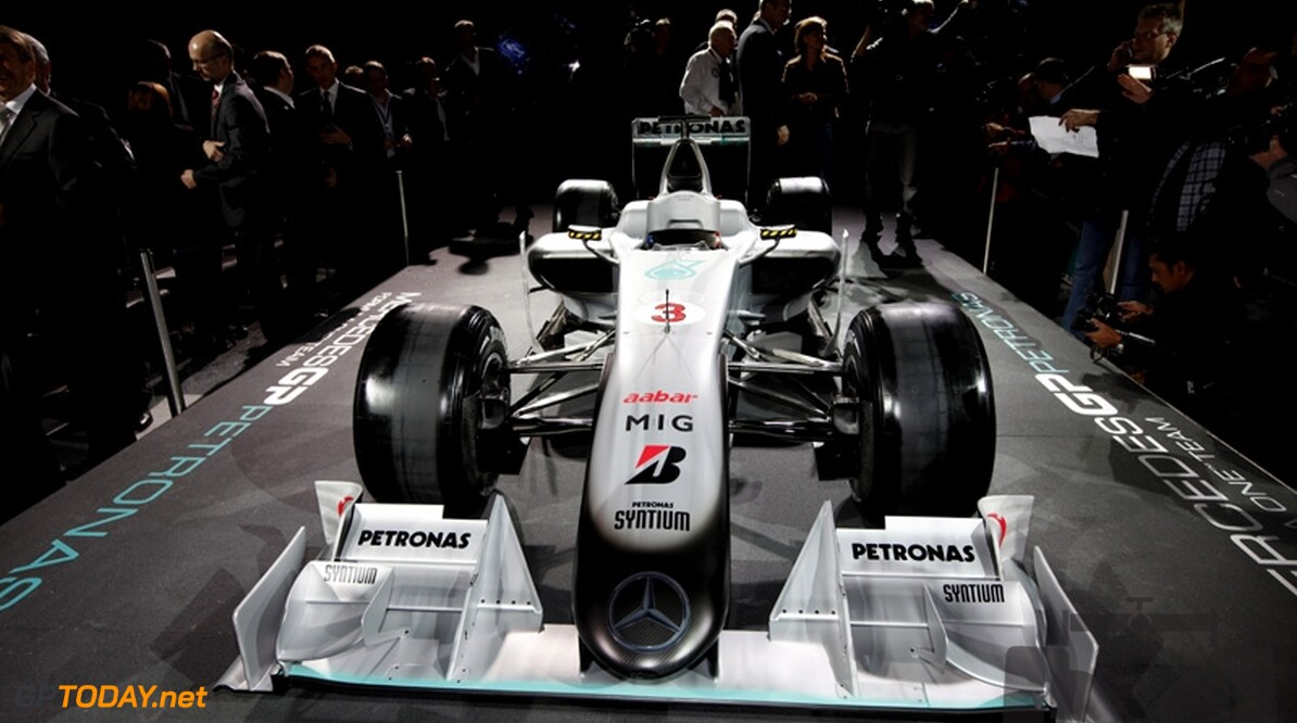 Mercedes GP komt met radicale airbox op de proppen
