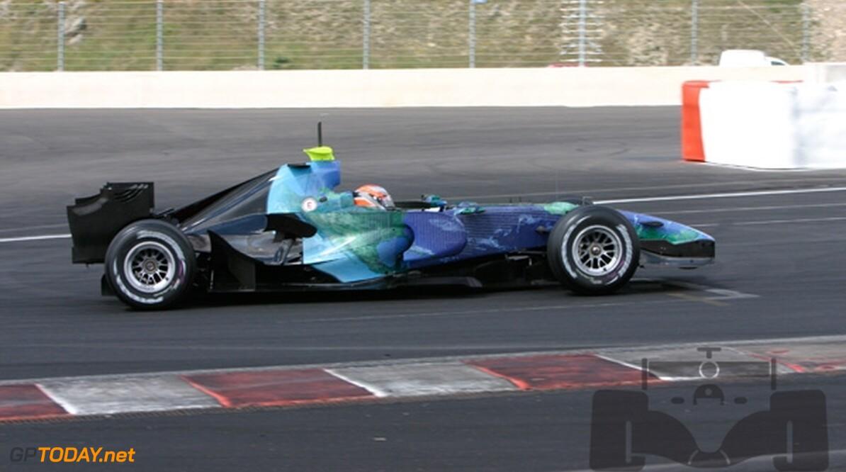 Barrichello gelooft in toekomst in de Formule 1