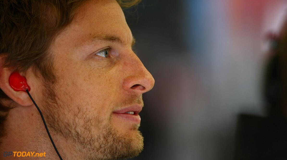 """Button: """"Ik ben meer als Prost en Hamilton is meer als Senna"""""""