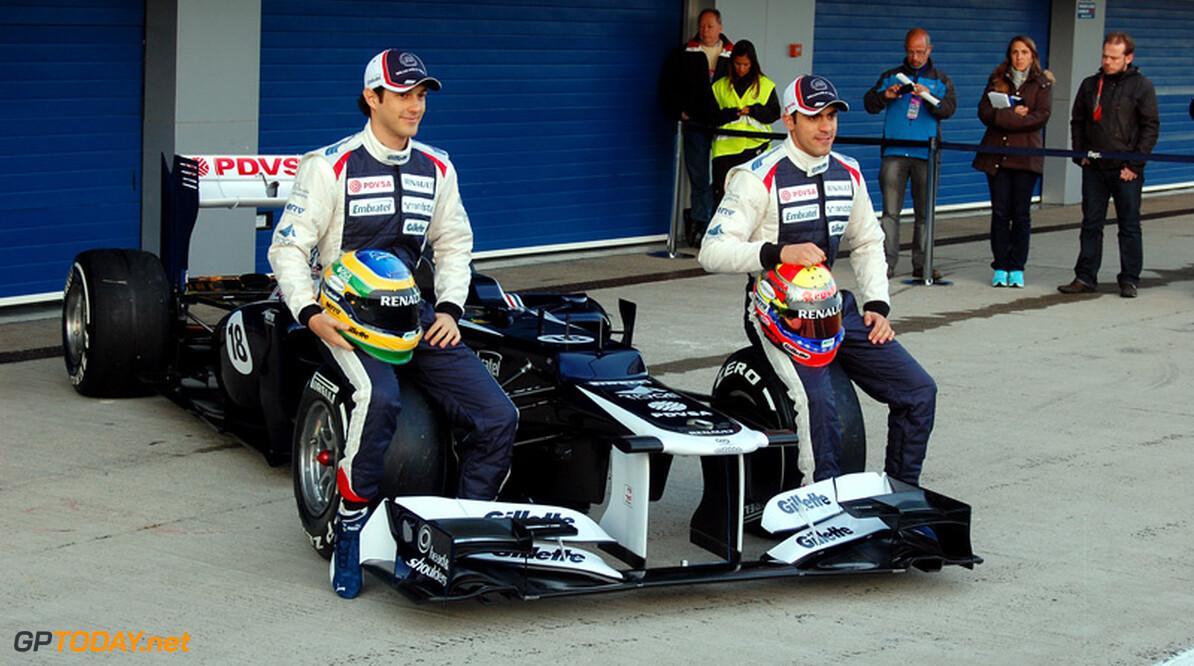 Williams opent dag in Jerez met presentatie van FW34