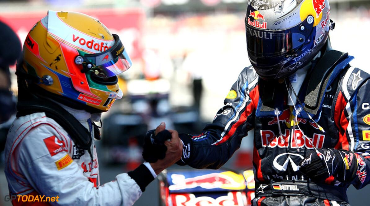 """Hamilton: """"De enige die Vettel kan beantwoorden ben ik"""""""