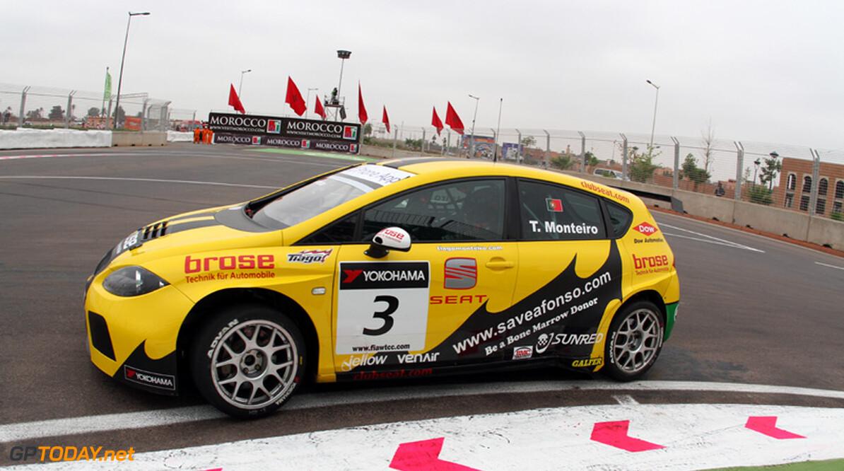Tiago Monteiro pakt pole position voor thuisrace, Coronel stelt teleur