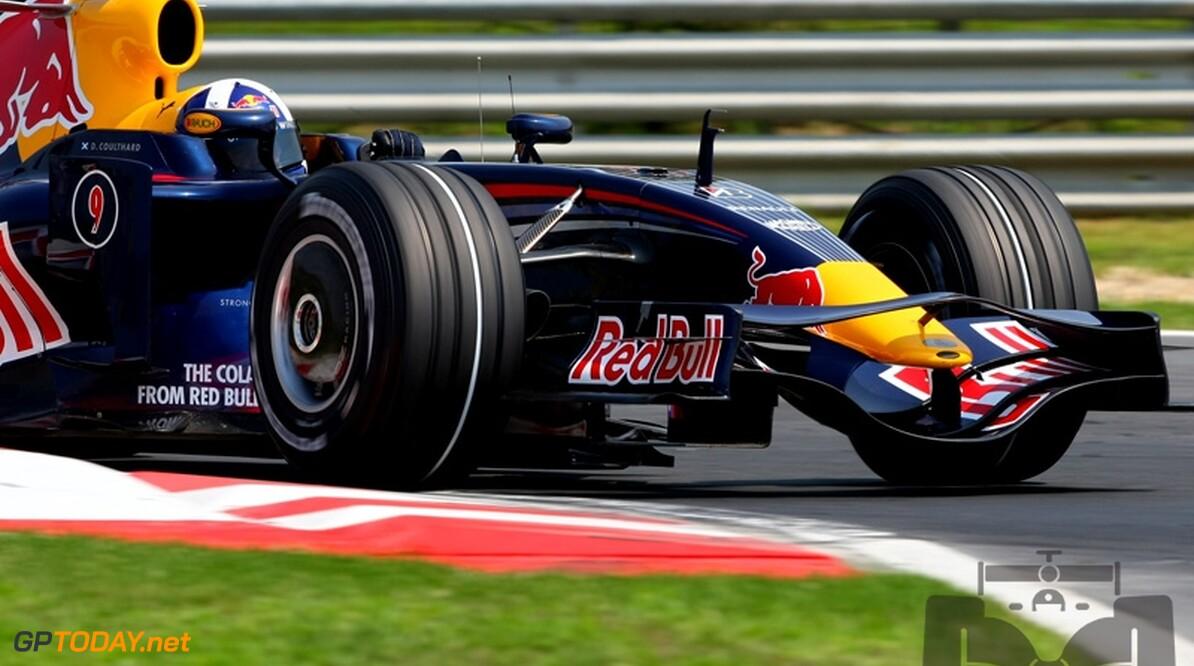 Red Bull Racing denkt vooralsnog niet aan inzetten Coulthard