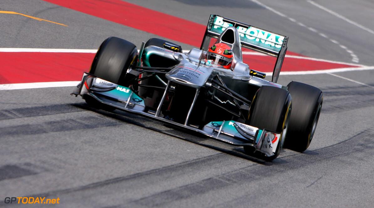 Mercedes GP wijzigt testaanpak voor voorbereiding op 2012