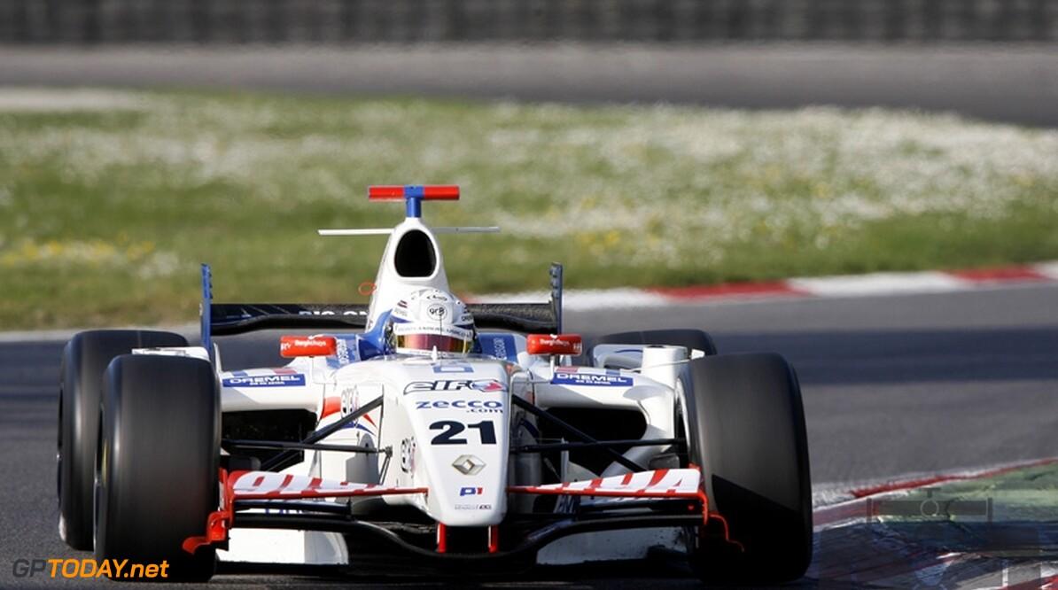 Van der Garde vijfde bij GP2-test