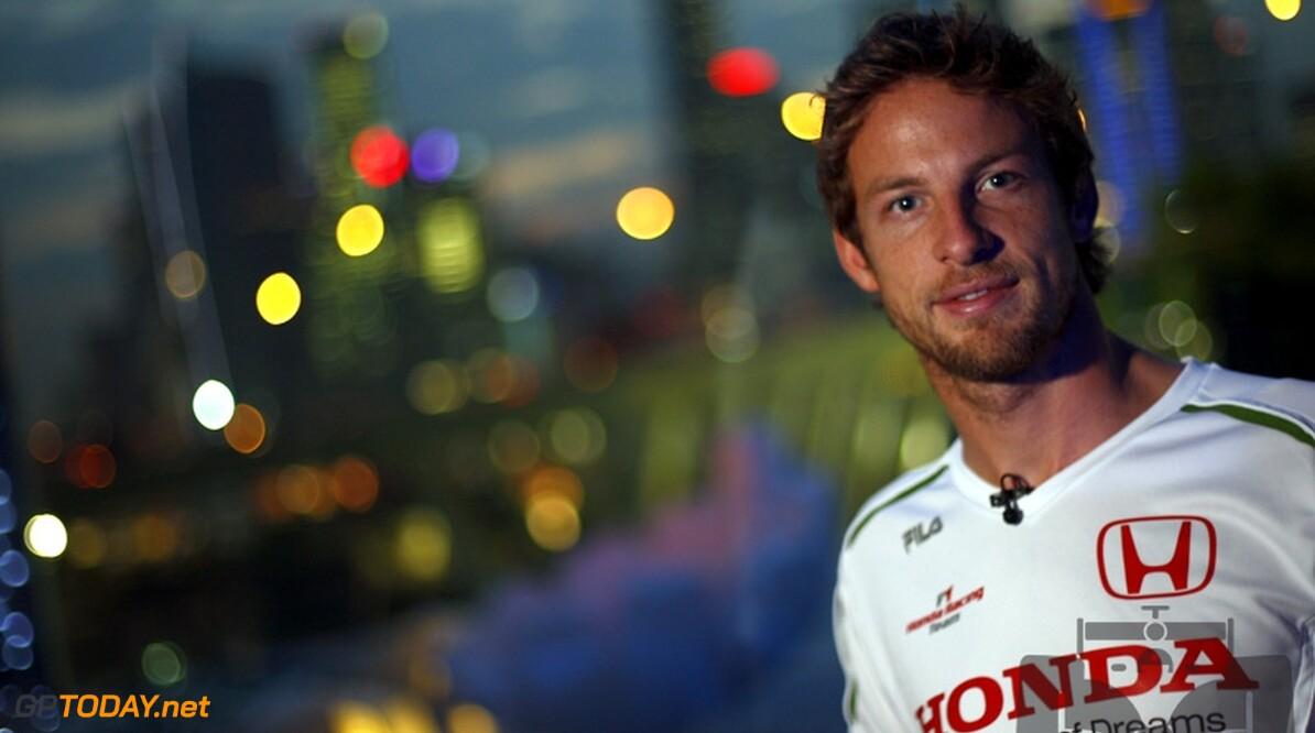 """Button: """"Stiekem hoop ik op meer dan podiumplekken in 2009"""""""