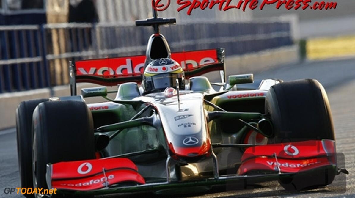 McLaren test met 2009-voorvleugel in Jerez