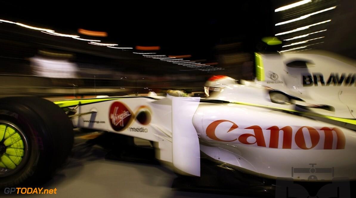 Canon overweegt sponsoring Brawn GP voort te zetten
