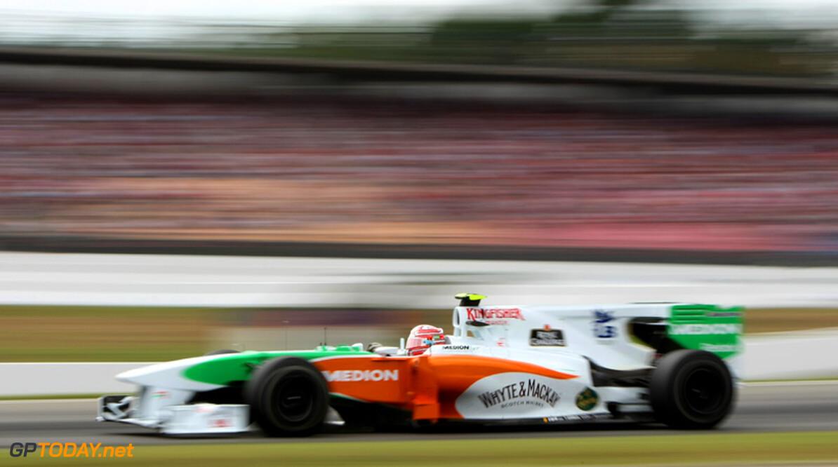 Force India begaat opnieuw bandenblunder en is beboet