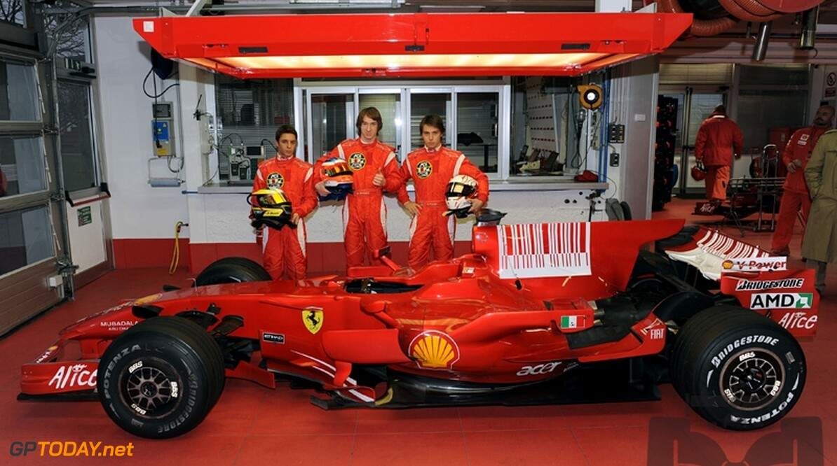 Formule 3-rijders testen op 2 december voor Ferrari in F2008