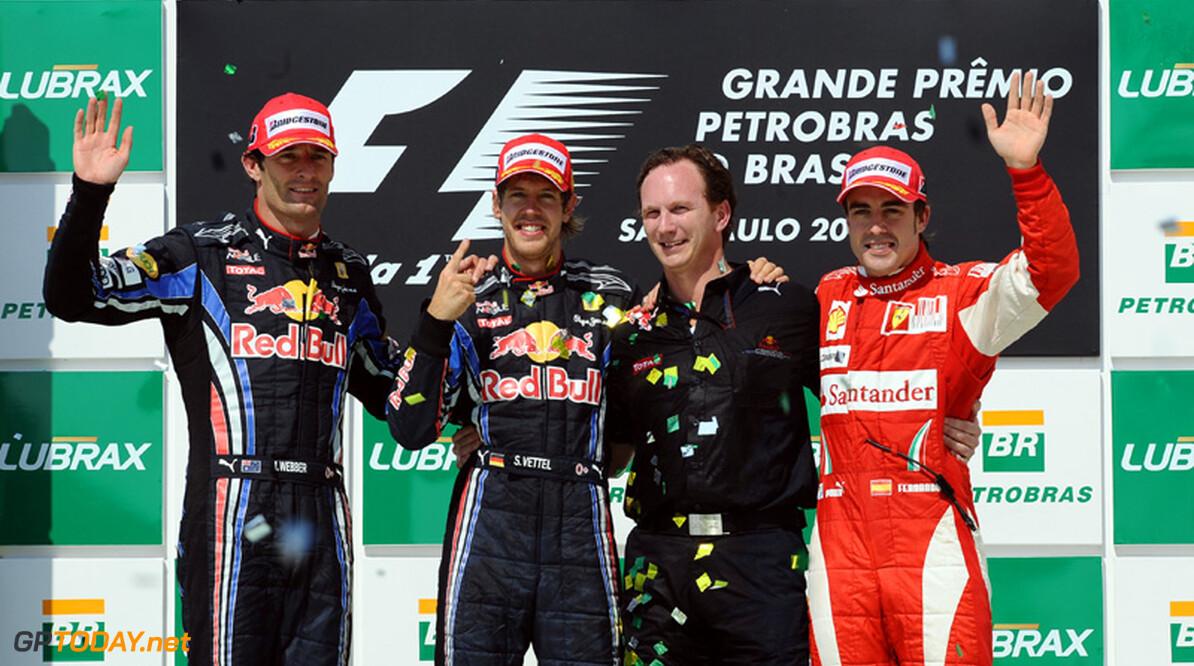 Vettel ontving nog geen felicitaties van Fernando Alonso
