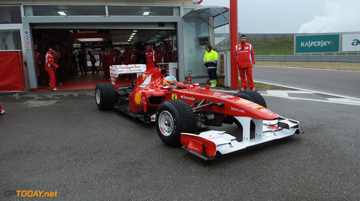 Ferrari werkt voluit aan 'zeer innovatieve machine' voor 2012