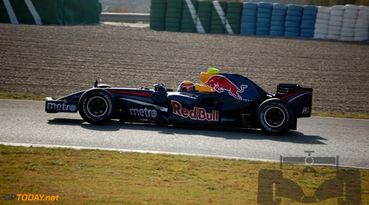 Mark Webber blij voor Red Bull Racing te racen
