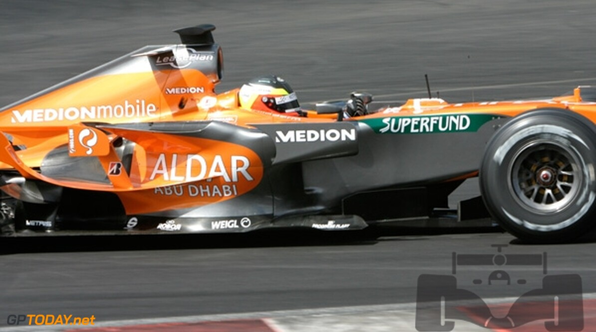 Van der Garde test op Barcelona voor Force India