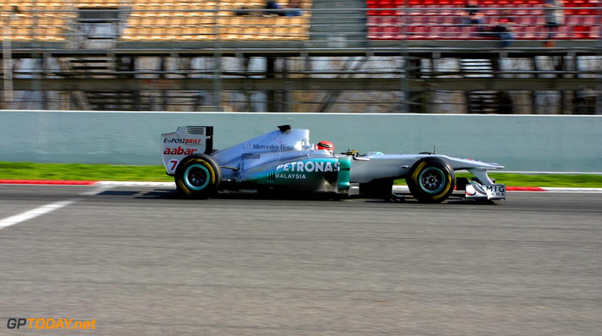 Mercedes GP houdt beide benen op de grond voor Melbourne