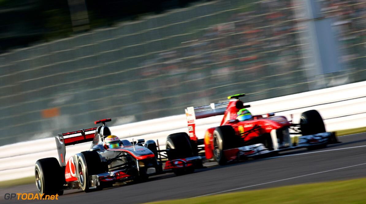 <b>Analyse:</b> Formule 1-seizoen 2011 leverde al 1436 inhaalacties op