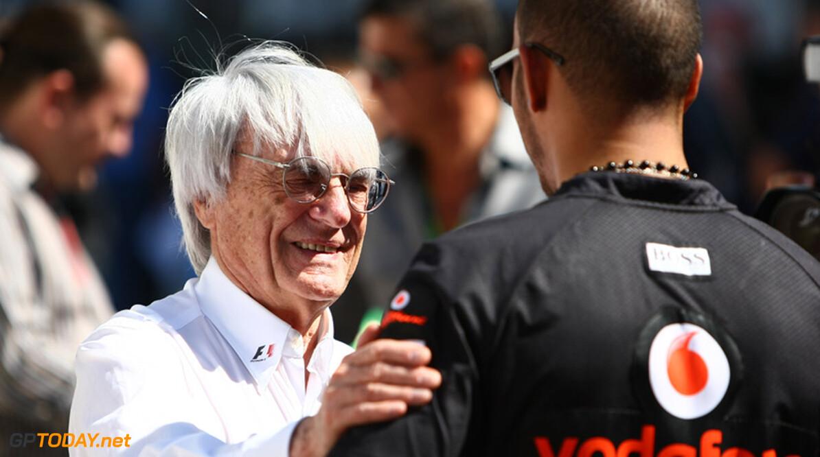 Bernie Ecclestone gelukkig met comeback Kimi Raikkonen